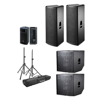 speaker and sound rental for every type of event. Black Bedroom Furniture Sets. Home Design Ideas