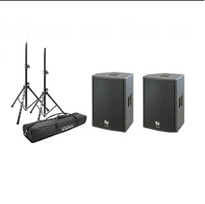 Basic Speaker System Rental Package