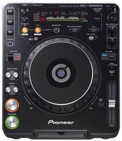 Pioneer CDJ-1000 MK3 Rental
