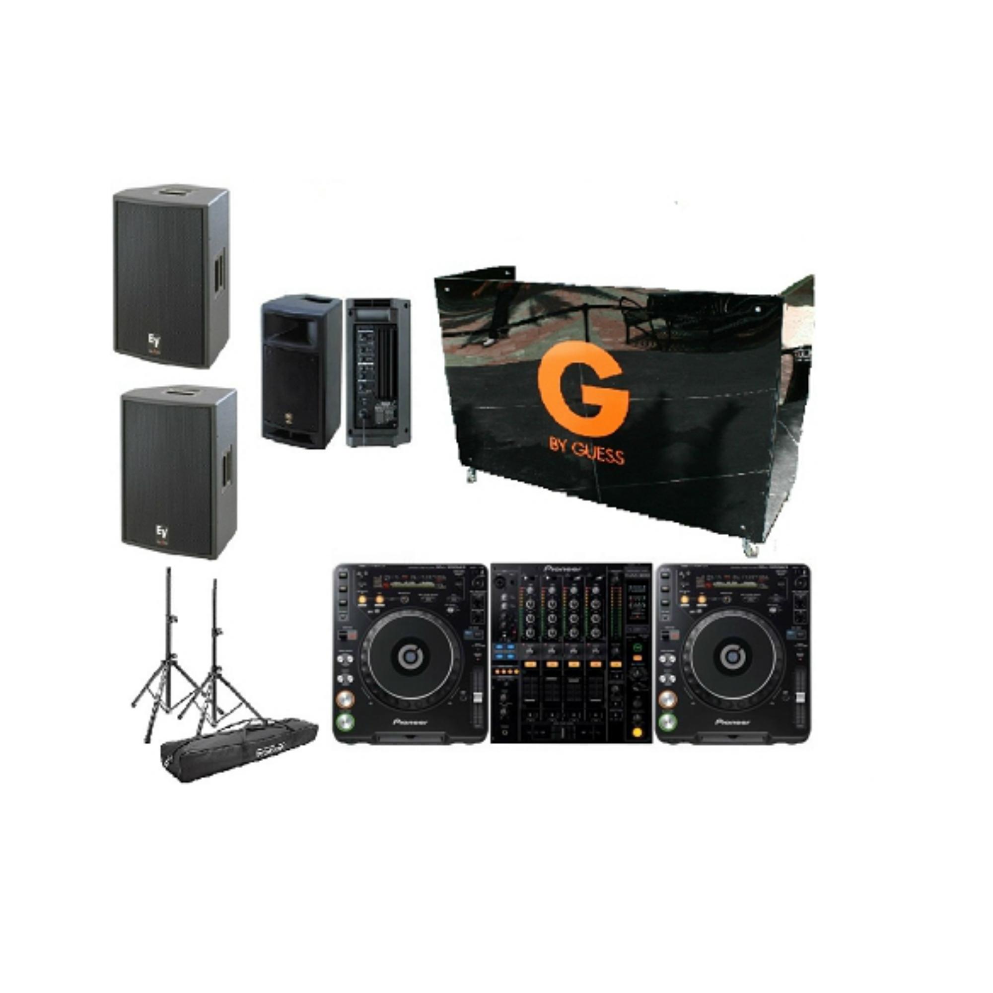Speaker Rental Prices : two cdj 1000s and a djm 800 dj booth dj monitor and powered speakers rental package dj peoples ~ Russianpoet.info Haus und Dekorationen