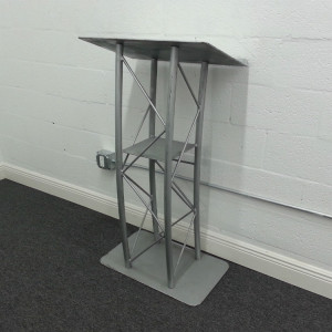 Metal-Podium-Rental-Side