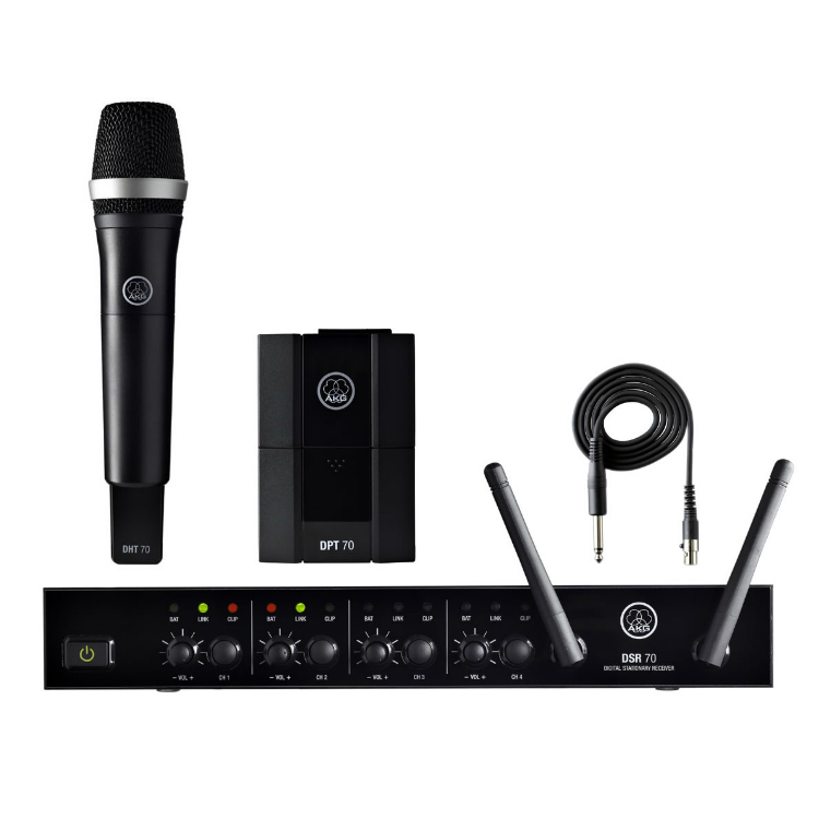 Akg Dms70 Wireless Vocal And Instrument Microphone Rental