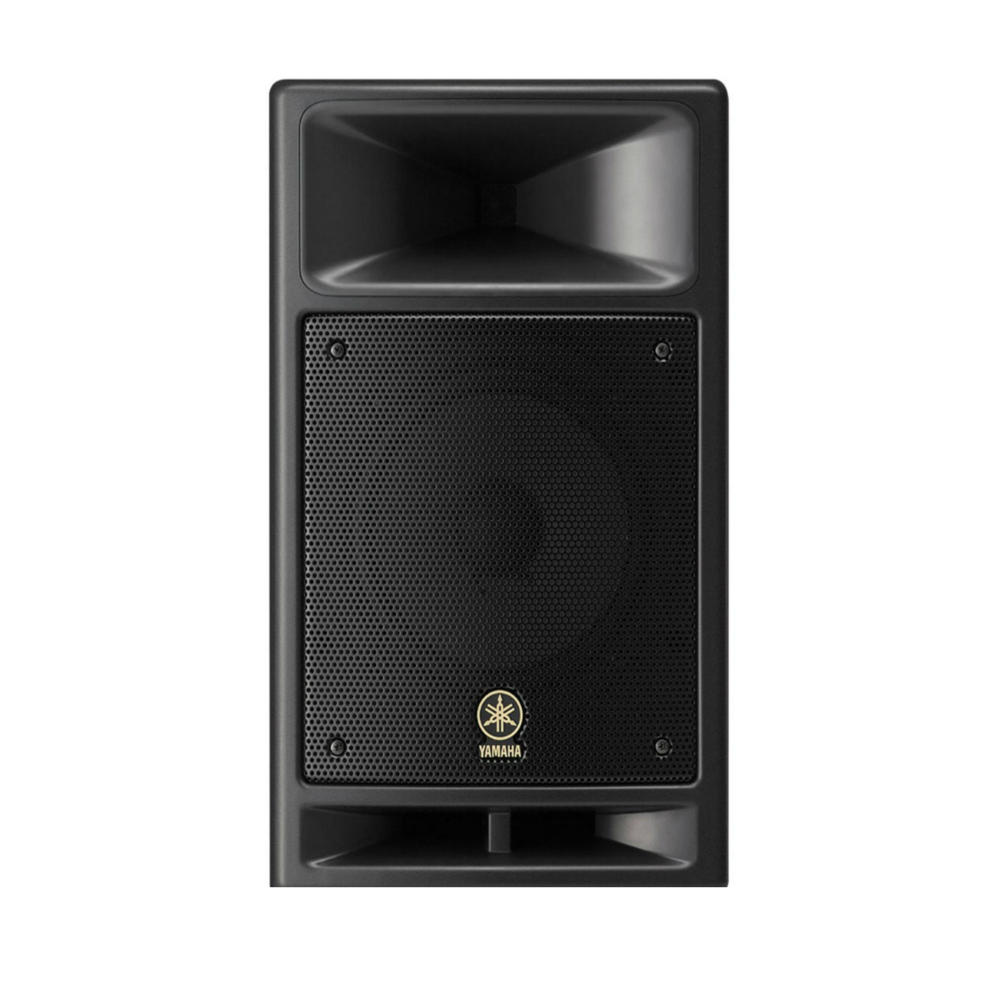 Yamaha msr100 8 inch powered speaker rental dj peoples for Yamaha dj speaker