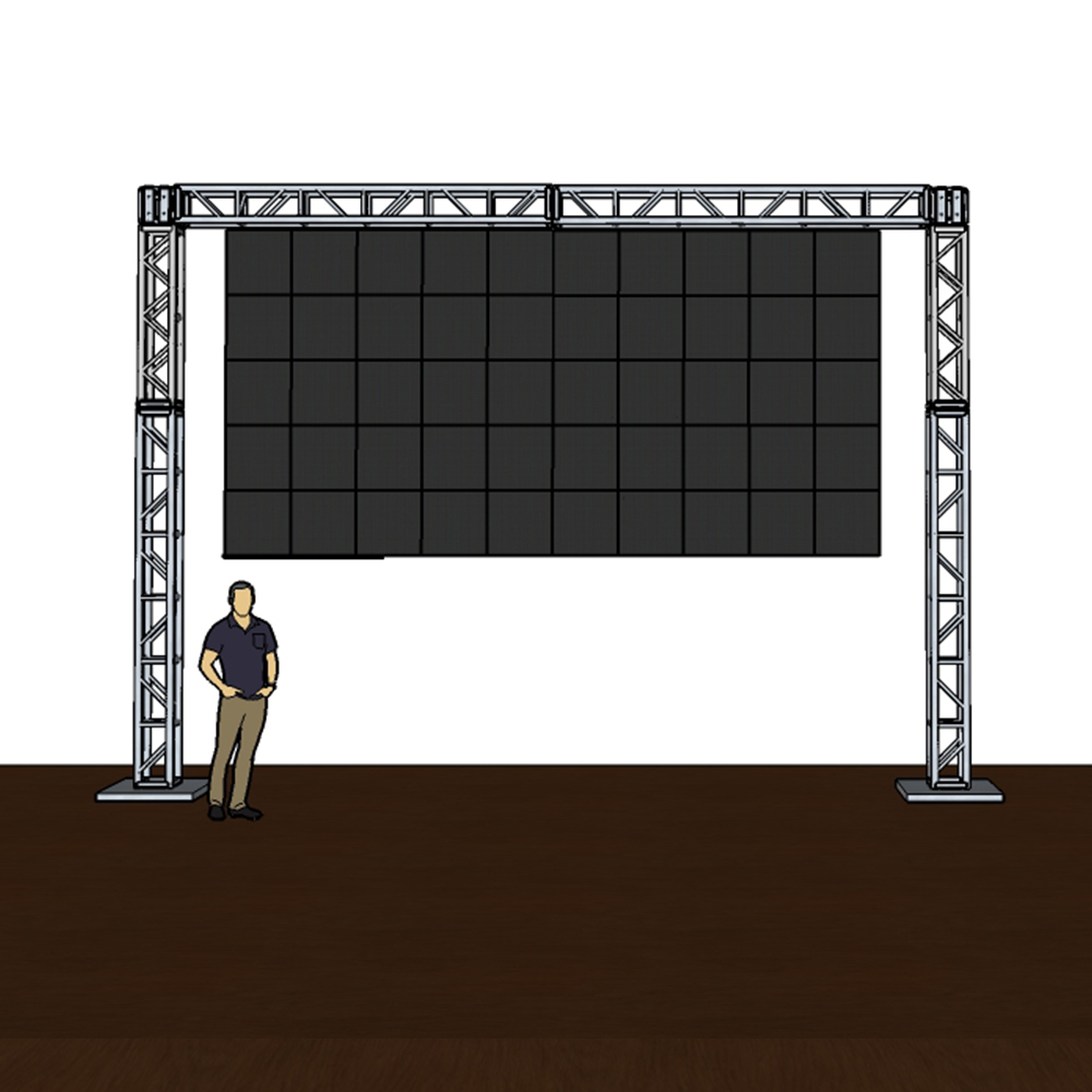 Truss Mounted Video Wall Panels for the Ultimate In/Outdoor Event