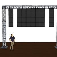 32 panels- 10x7 plus 2 strips