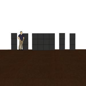 4X3 panels-4 colmns-floor