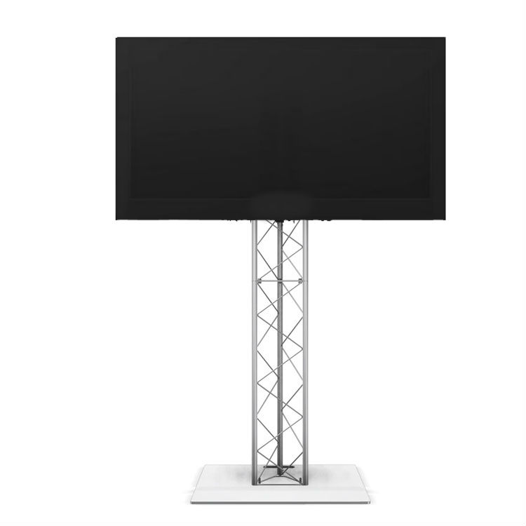 Led Tv Screen Rental On Truss Stand For Heavy Stage Use